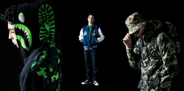 abathingape2014FWcollection A Bathing Ape - 2014 Fall/Winter Men's Collection (Photos)