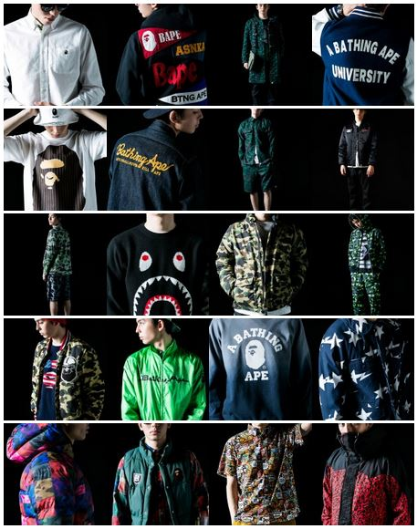abathingape2014FWcollection2 A Bathing Ape - 2014 Fall/Winter Men's Collection (Photos)
