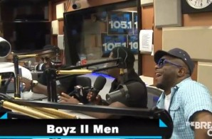 Boyz II Men Visits The Breakfast Club To Talk New Album, Former Members & More (Video)