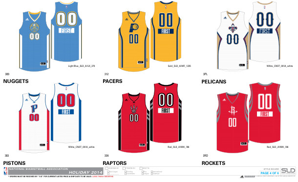christmas4 1 NBA 2014 Christmas Jerseys Unveiled (Photos)