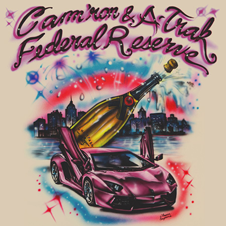 federal reserve cam ron a trak cover Federal Reserve (Cam'Ron & A Trak)   Federal Reserve EP (Artwork)