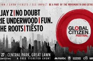 Jay Z to Headline the 2014 Global Citizen Festival