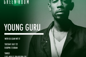 Heineken Green Room: Young Guru July 22, 2014 in Philly