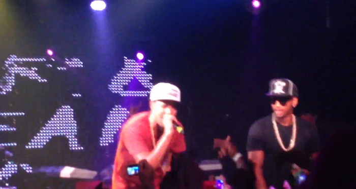 jcole trey 1 J. Cole Brings Out Trey Songz In Miami (Video)