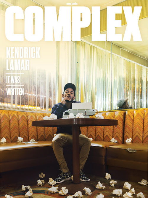 kendrick-lamar-complex Kendrick Lamar Covers the Complex 2014 August-September Issue