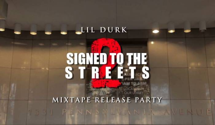 lildurksignedtothestreetsreleasepartyDMV Lil Durk - Signed To The Streets 2 (Mixtape Release Party In DC) (Filmed By Joe Moore Productions)