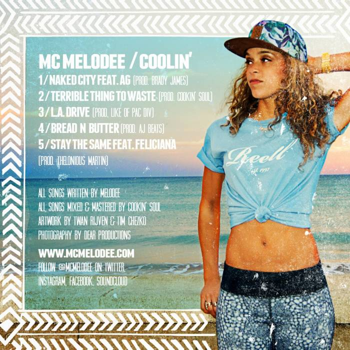 melodee coolin BACK HR MC Melodee   Coolin (EP)