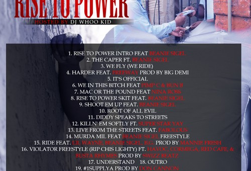 Murda Mil – Rise To Power (Mixtape) (Hosted by DJ Whoo Kid)