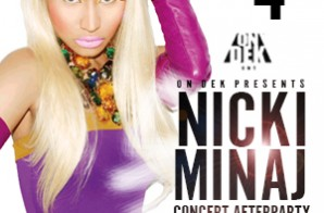 Nicki Minaj Official 4th of July After Party at Sound Garden Hall in Philly