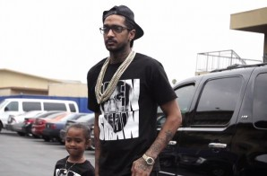 Nipsey Hussle Shows His Support At Trayvon Martin Crenshaw Rally (Video)