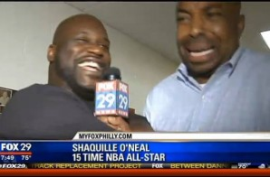 Shaq Visits Philly Reebok Classic Event, Talks Beating The Sixers In The Past & More (Video)