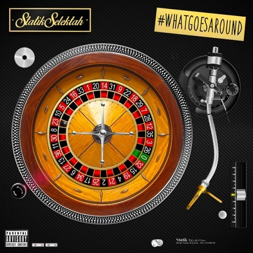 statik selektah what goes around 500x500 Statik Selektah   Alarm Clock Ft. Ab Soul, Logic & Jon Connor