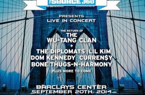 SOURCE360 Presents Live In Concert: Wu-Tang, Dipset, Dom Kennedy & Curren$y At Barclays Center