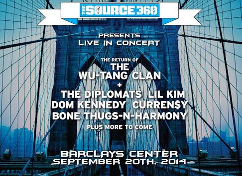 thesource360 SOURCE360 Presents Live In Concert: Wu-Tang, Dipset, Dom Kennedy & Curren$y At Barclays Center