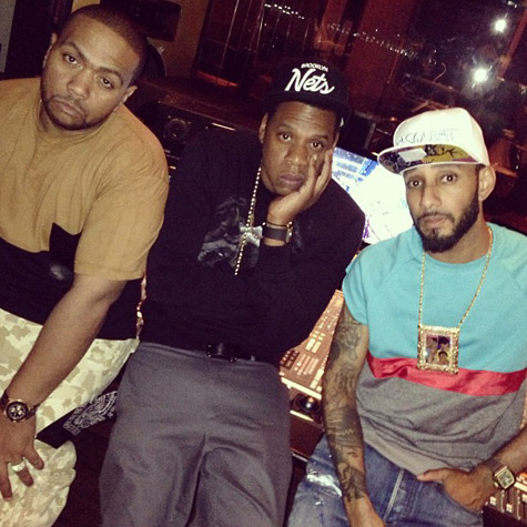 "timbaland-jay-z-swizz1 Jay-Z, Swizz Beatz & Timbaland Record ""Versus"" (Video)"