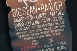Trillectro 2014 Lineup