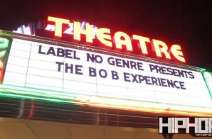 "No Genre Label Presents: The B.O.B Experience ""No Genre 2"" (Recap) (Video) (HHS1987 Exclusive)"
