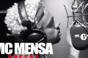 Vic Mensa – Fire In the Booth Freestyle (Video)