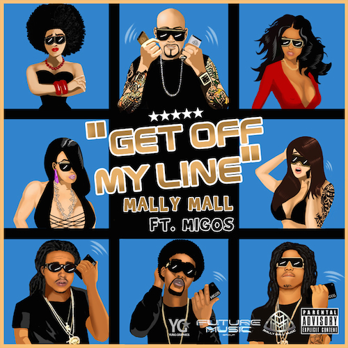 zfuxGPK Mally Mall – Get Off My Line Ft. Migos