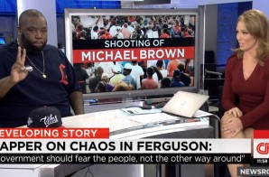 Killer Mike Discusses The Chaos In Ferguson, Missouri On CNN (Video)