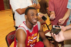 Andrew Wiggins Addresses LeBron James, Possible Kevin Love Trade & More (Video)