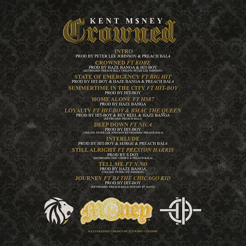 BVklbRF Kent M$ney – Crowned (Album Stream)