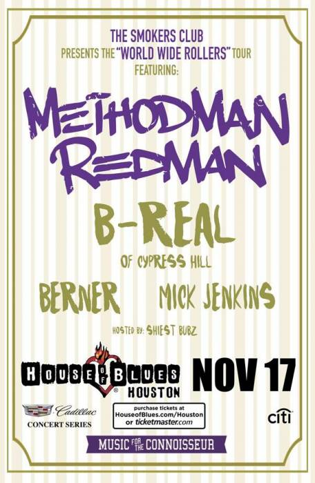 "BvCBOVmIIAEYU28 Method Man & Redman To Headline 5th Annual ""Smoker's Club"" Tour"