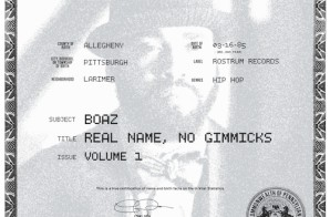 Boaz – Real Name No Gimmicks Vol 1 EP