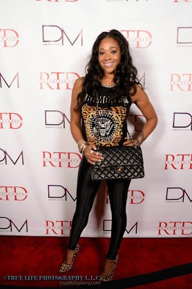 IMG 3561 Demetria Mckinney Celebrates Her 100 Video Release Party In Atlanta (Photos)