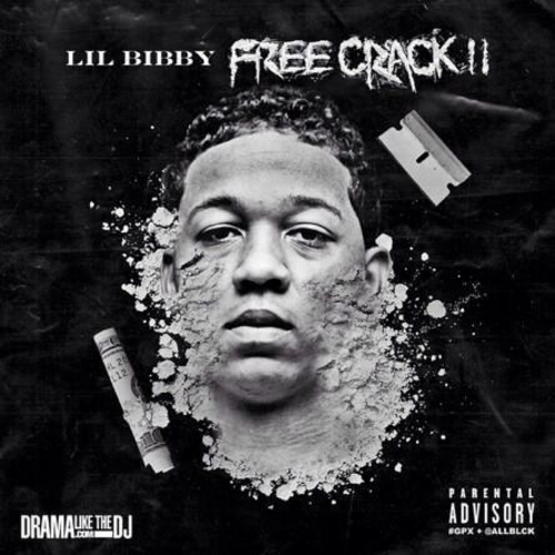 Lil Bibby Free Crack 2 front large Lil Bibby   Free Crack 2 Trailer (Video)