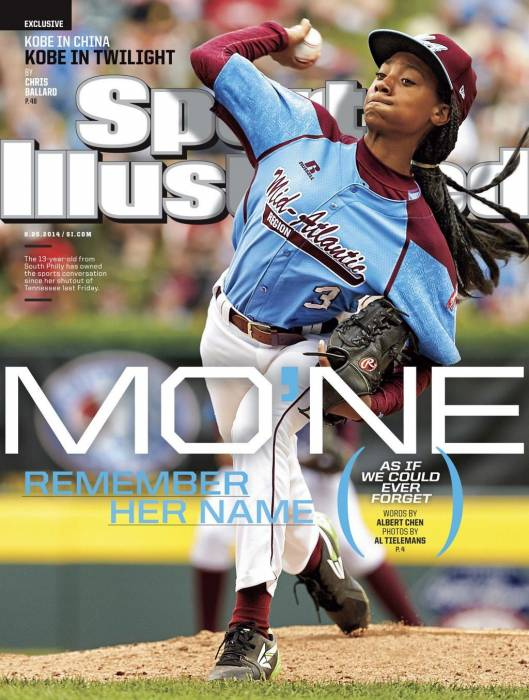MoneDavisCover Mo'Ne Davis Graces The Cover Of Sports Illustrated