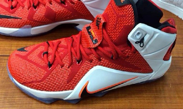 "Nike LeBron 12 LION HEART Release Date 1 Nike LeBron 12 ""Lion Heart"" (Photos)"