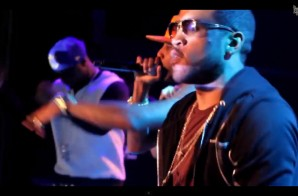 Ryan Leslie Brings Out G-Unit & Fabolous In NYC (Video)