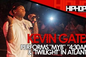 "Kevin Gates Performs ""MYB"", ""4:30am"" & ""Twilight"" At Masquerade In Atlanta (Video)"