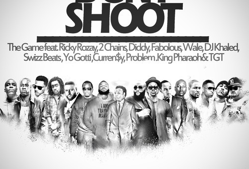 The Game – Don't Shoot (Mike Brown Tribute) ft. Rick Ross, 2 Chainz, Diddy, DJ Khaled & More