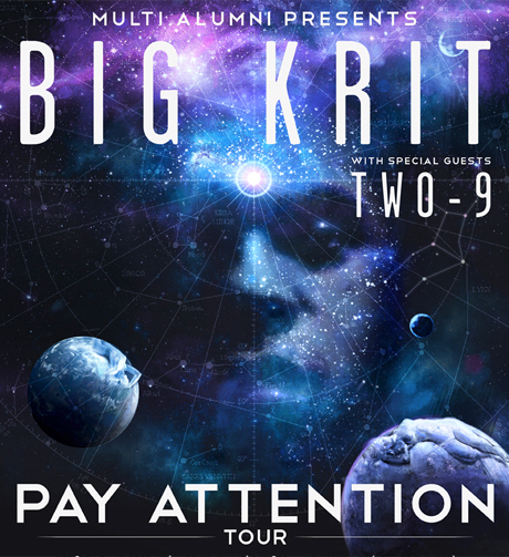 big59 Big K.R.I.T Announces His Upcoming Pay Attention Tour Featuring Two 9