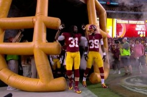 The Washington Redskins Pay Homage To Michael Brown (Video)