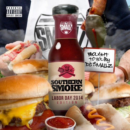 cover10 DJ Smallz - Southern Smoke (Labor Day 2014) (Mixtape)