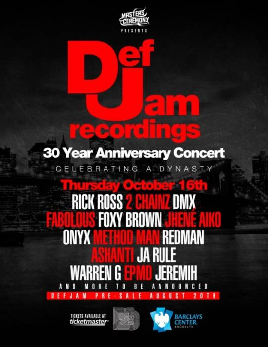 def-jam-630x815 Def Jam's 30th Anniversary Concert To Be Held At Barclays Center In NYC!