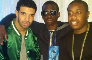 Watch As Brooklyn Native And Epic Recording Artist, Bobby Shmurda Joins Drake In New Jersey!
