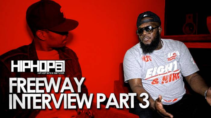 "freeway-interview-pt3 Freeway Talks Making ""What We Do"", Working With Just Blaze, Memorable Studio Sessions & More With HHS1987"