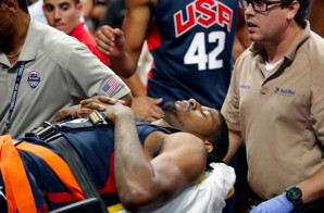 Paul George Suffers A Horrible Leg Injury During Team USA Scrimmage