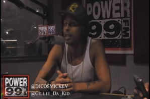 Gillie Da Kid Talks Soulja Boy Fight in October with DJ Cosmic Kev (Video)