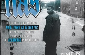 "Nas Announces ""Time Is Illmatic"" Tour"