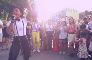 Janelle Monae & The Drumadics – Dance Apocalyptic (Street Performance) (Video)