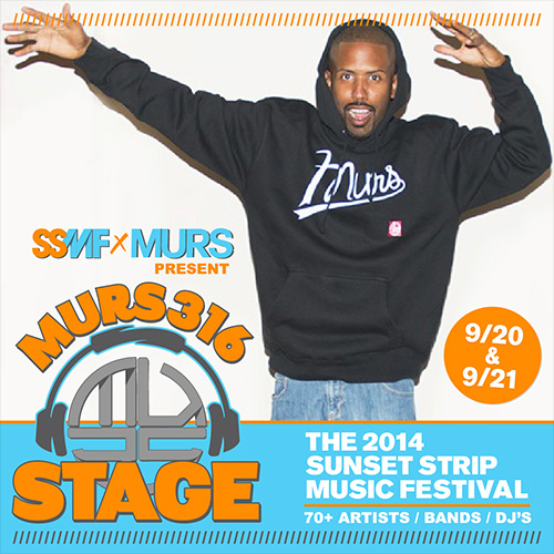 murs stage ssmf Sunset Strip Music Festival Announces Murs Stage Lineup