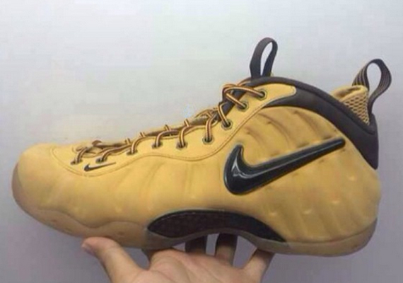 "nike-air-foamposite-pro-wheat-1 Nike Air Foamposite ""Wheat"" (Photos)"