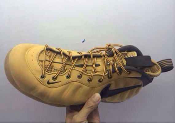 "nike-air-foamposite-pro-wheat-2 Nike Air Foamposite ""Wheat"" (Photos)"