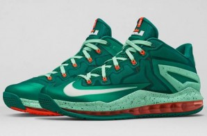 "Nike LeBron 11 Low ""Mystic Green"" (Photos)"