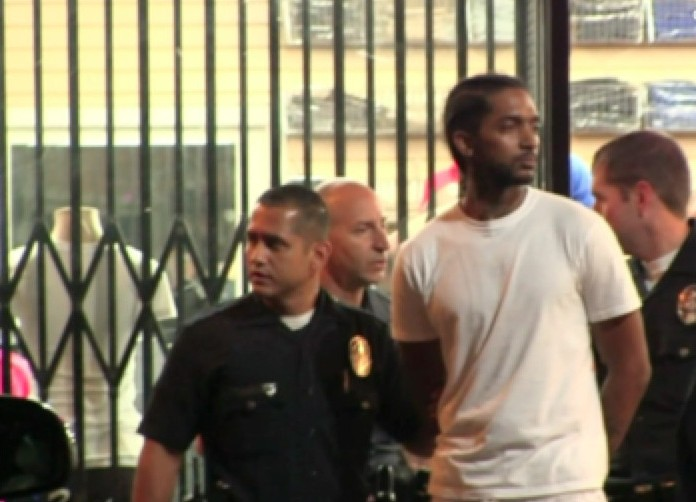 nipsey-hussle-arrested-ddotomen-1-e1409421407611 Nipsey Hussle Arrested In Los Angeles Last Night & Has Been Released